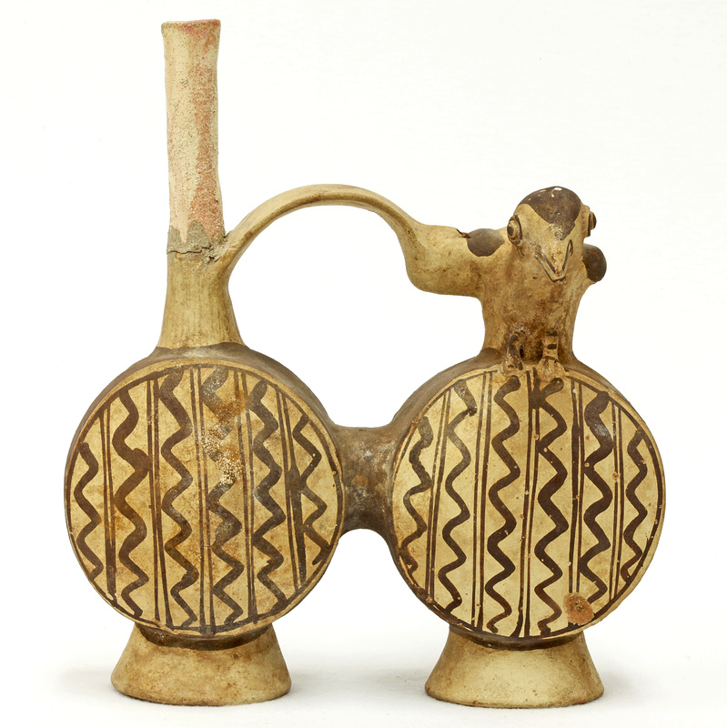 Chancay Double-Chambered Whistling Vessel