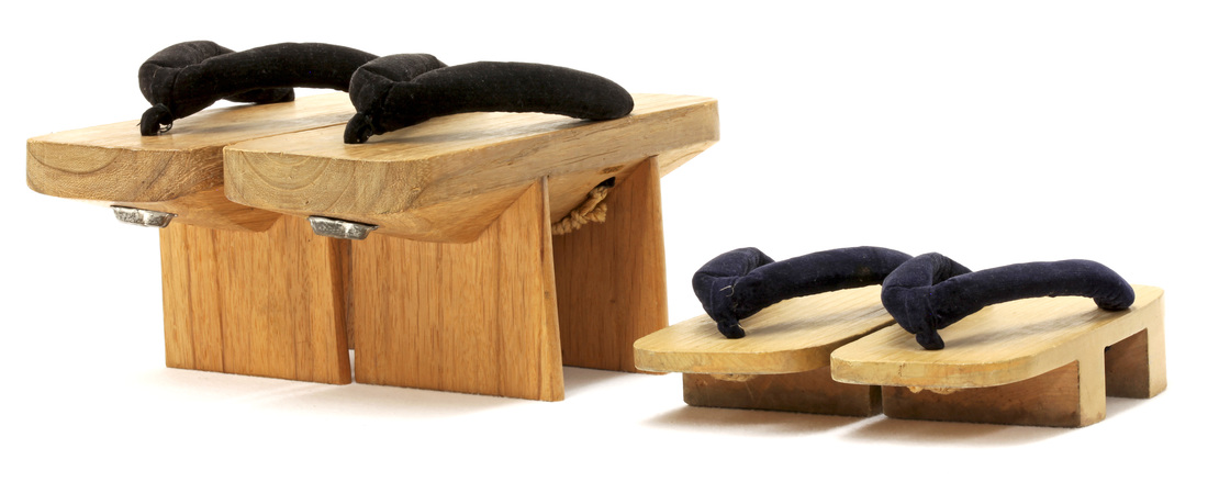 Child and Adult Pairs of Geta