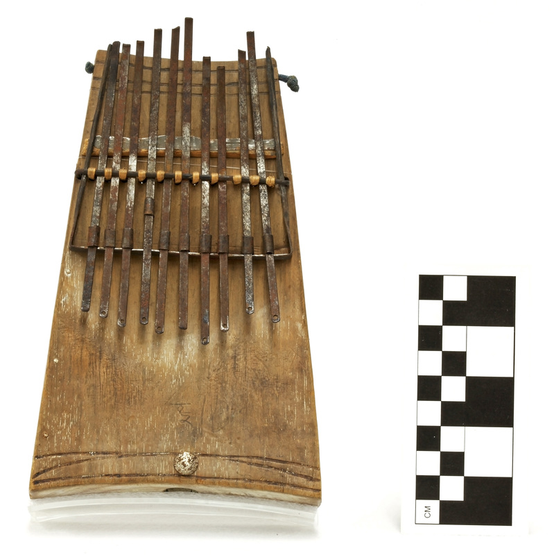 Lamellophone from the Congo
