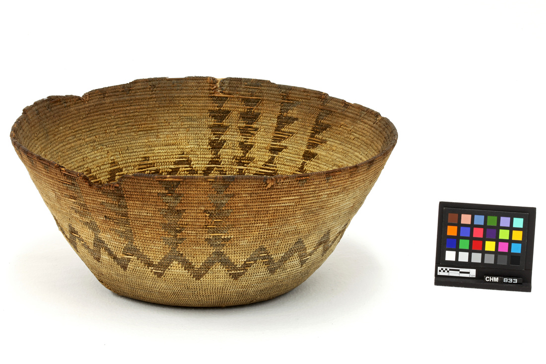 Western Mono Cooking Basket (Ta'-Wit) Owned by Chukchansi Woman Chalakit and Sold to Clinton Hart Merriam